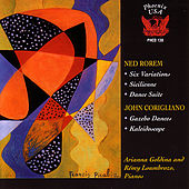 John Corigliano/Ned Rorem works for 2 pianos by Various Artists