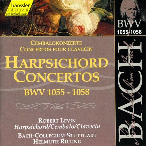 Johann Sebastian Bach: Harpsichord Concertos, BWV 1055-1058 by Johann Sebastian Bach