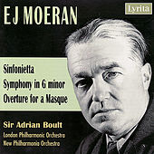 Moeran: Sinfonietta, Symphony in G Minor & Overture for a Masque by Ernest John Moeran