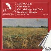 Danish Violin Concertos Vol. 7 & 8 by Various Artists