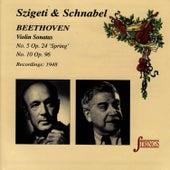 Beethoven: Sonatas No. 5 & 10 by Ludwig van Beethoven