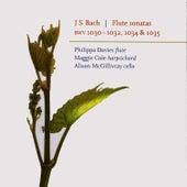 J. S. Bach - Flute Sonatas - Philippa Davies - Maggie Cole - Alison McGillivary by Johann Sebastian Bach