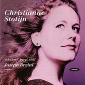Christianne Stotijn - Schubert / Berg / Wolf Lieder by Various Artists