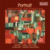 Portrait: Violin and Cello Duo by Mattia Zappa
