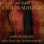 Mozart: Violin sonatas by Mieczyslaw Horszowski