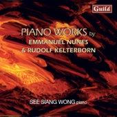 Nunes: Litanies Du Feu Et De La Mer & Kelterborn: Piano Pieces 1-13 von See Siang Wong
