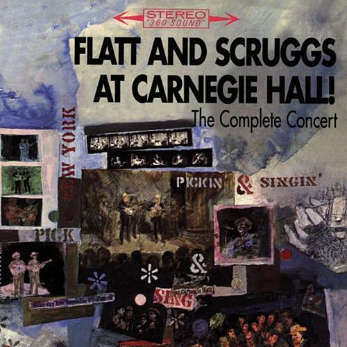 Live at Carnegie Hall by Lester Flatt