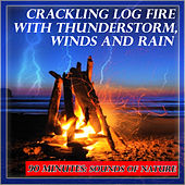 Natural Sounds: Crackling Log Fire with Thunderstorm, Winds and Rain by Sounds Of Nature