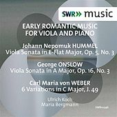 Early Romantic Music for Viola & Piano by Ulrich Koch