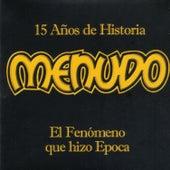 15 Anos De Historia by Menudo