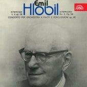 Hlobil: Symphony No. 4, Concerto per orchestra a fiatti e percussioni by Various Artists