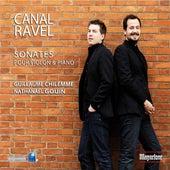 Ravel & Canal: Sonates pour violon et piano by Guillaume Chilemme