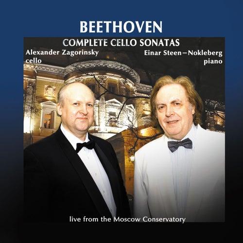Beethoven: Complete Cello Sonatas by Einar Steen-Nokleberg