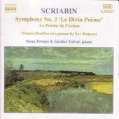 Piano Transcriptions by Alexander Scriabin