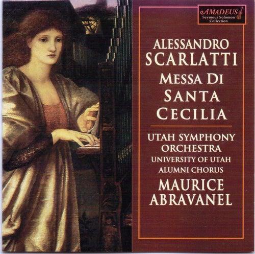 Alessandro Scarlatti: Messa di Santa Cecilia by Maurice Abravanel