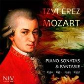Mozart: Piano Sonatas & Fantasie - K.330, K.331, K.545, K.397 by Tzvi Erez