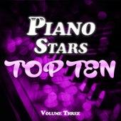 Piano Stars Top Ten Vol. 3 von Various Artists
