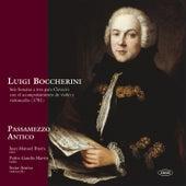 Luigi Boccherini. Seis sonatas a tres para clavecín con el acompañamiento de violín y violoncello by Passamezzo Antico