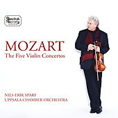 Mozart: The 5 Violin Concertos by Nils-Erik Sparf