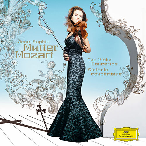 Mozart: The Violin Concertos; Sinfonia concertante by Anne-Sophie Mutter