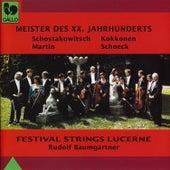 Shostakovich, Kokkonen, Martin, Schoeck: Meister des XX. Jahrhunderts by Various Artists