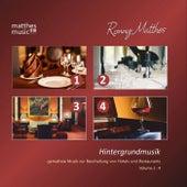 Hintergrundmusik - Gemafreie Musik zur Beschallung von Hotels & Restaurants, 4 Alben - Vol. 1 - 4 by Ronny Matthes