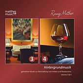 Hintergrundmusik - Gemafreie Musik zur Beschallung von Hotels & Restaurants, Doppelalbum - Vol. 3 & 4 by Ronny Matthes