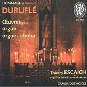 Hommage à Maurice Duruflé: Œuvres pour orgue et chœur by Various Artists