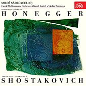 Honegger, Shostakovich: Concertos for Cello and Orchestra by Miloš Sádlo