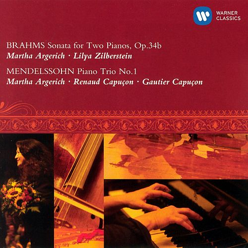 Brahms : Sonata for 2 pianos & Mendelssohn : Piano Trio (LUGANO FESTIVAL 2002) by Various Artists