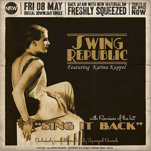 Sing It Back by Swing Republic