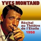 Récital au Théâtre de l'Etoile (1958) by Yves Montand