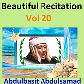 Beautiful Recitation, Vol. 20 (Quran - Coran - Islam) by Abdul Basit Abdul Samad