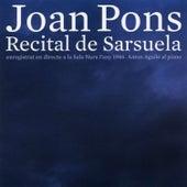 Recital de Sarsuela by Joan Pons