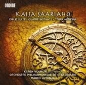Saariaho: Émilie suite, Quatre instants & Terra memoria by Various Artists