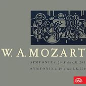 Mozart: Symphony No. 29 in A Major, Symphony No. 40 in G Minor by Various Artists
