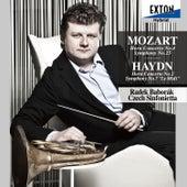Mozart: Horn Concerto No. 4, Symphony No. 25 - Haydn: Horn Concerto No. 2, Symphony No. 7 ''Le Midi'' by Czech Sinfonietta