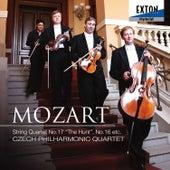 Mozart: String Quartet No. 17 ''The Hunt'' & No. 16 by Czech Philharmonic Quartet