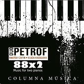 88x2 Music for Two Pianos by Duo Petrof