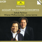 Mozart: The 5 Violin Concertos by Itzhak Perlman