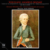 Mozart: Flute Concerto No. 1 in G Major, K. 313 - Flute Concerto No. 2 in D Major, K. 314 - Andante in C Major, K. 315 by Alexandre Magnin