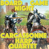 Board Game Night: A Pastoral Small World by Carcassonne Harp Quartet