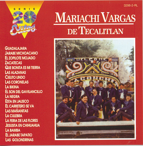 Serie 20 Exitos by Mariachi Vargas de Tecalitlan