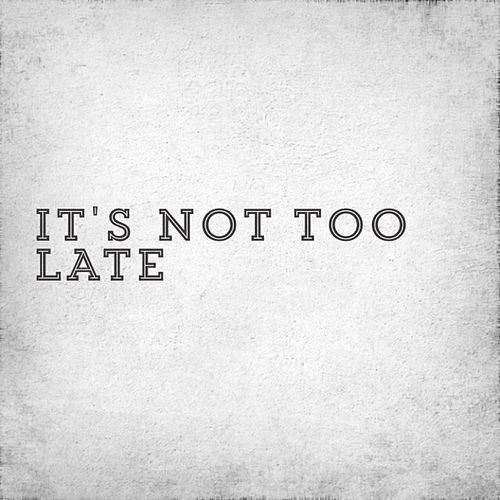 It's Not Too Late by IceJJFish