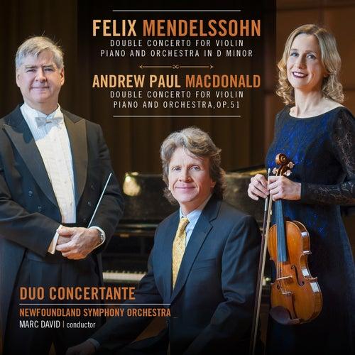 Mendelssohn / MacDonald Double Concertos by Duo Concertante
