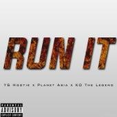Run It (feat. Planet Asia & KO The Legend) - Single by YG Hootie