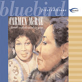 Sarah-Dedicated To You by Carmen McRae