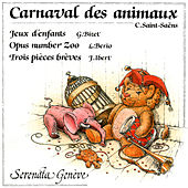Saint-Saëns: The Carnival of the Animals (Le Carnaval des animaux) - Bizet: Children's Games, Op. 22, WD 56 (Jeux d'enfants) - Luciano Berio: Opus Number Zoo - Jacques Ibert: Trois pièces brèves by Lova Golovtchiner