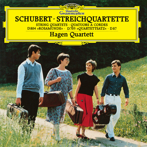 Schubert: String Quartets by Hagen Quartett