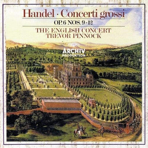 Handel: Concerti Grossi, Op.6, Nos.9-12 by Simon Standage
